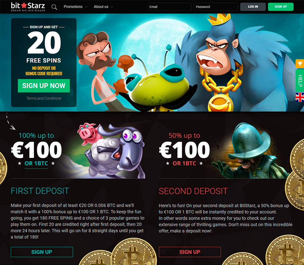 Free spins for registration no deposit